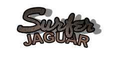 surfer jaguar logo