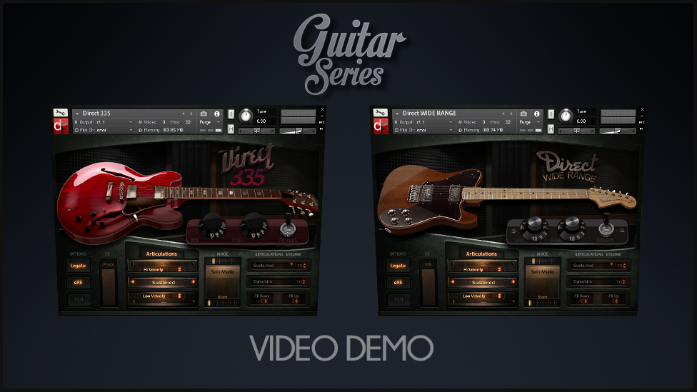 Blues DEMO – Direct335 and DirectWiderange