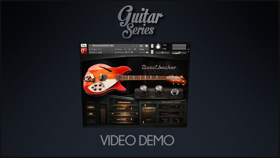 Pickups and 12Strings DEMO – DirectBacker360