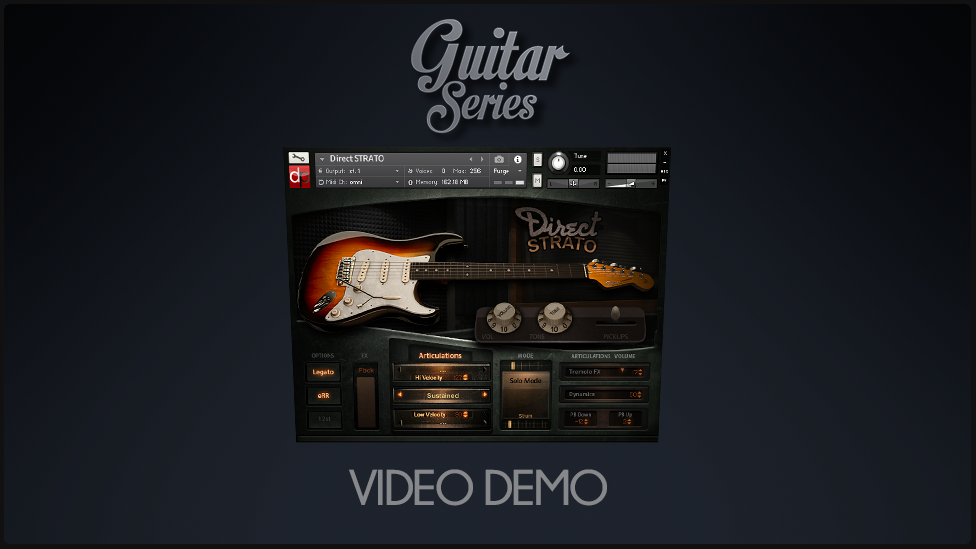 Pickups and Harmonics Morph DEMO – DirectStrato