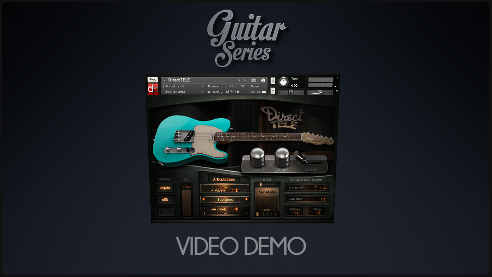 Pickups and Pick noise DEMO – DirectTele